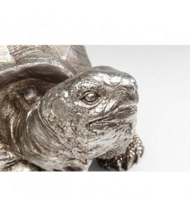 Figura decorativa Turtle plata mediano