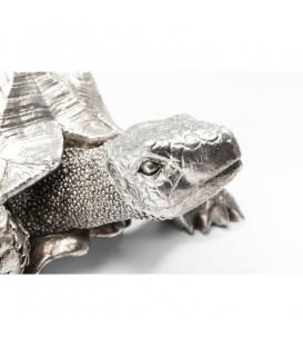Figura decorativa Turtle plata pequeño