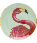 Plato decorativo Flamingo Ø27cm