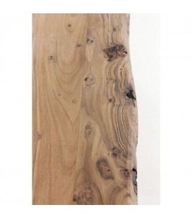 Mesa madera y metal Harmony negro 200x100cm