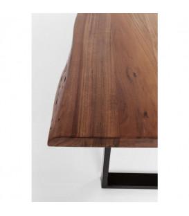 Mesa Harmony nogal acero 180x90cm