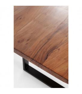Mesa Harmony nogal acero 160x80cm
