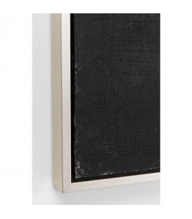 Cuadro Abstract Deep negro 155x155cm