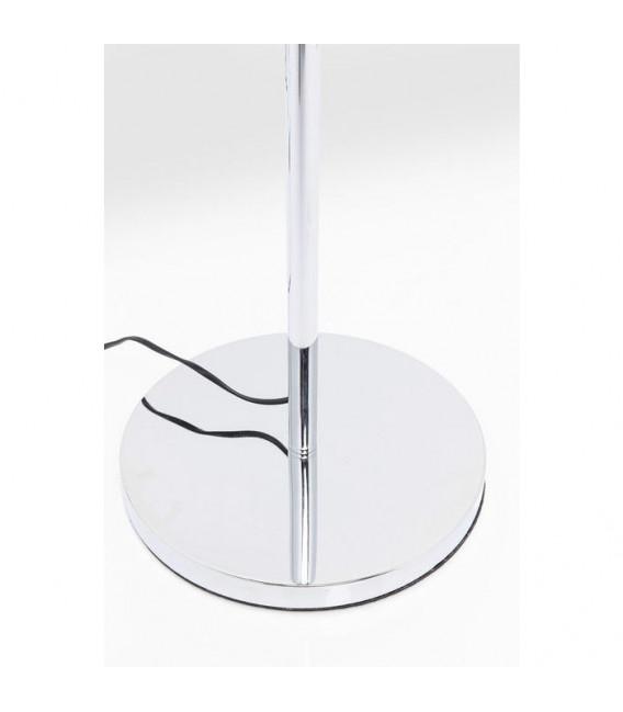 Lámpara de pie Goblet Ball cromo