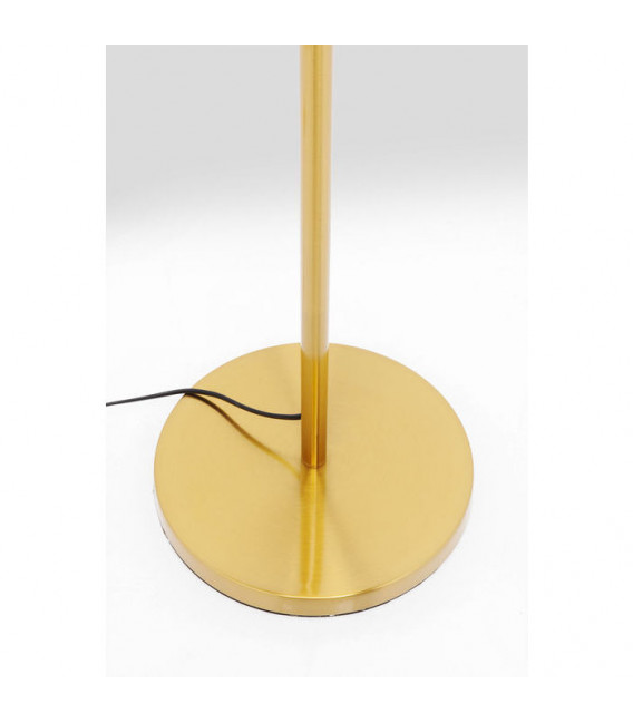 Lámpara pie oro Goblet Ball