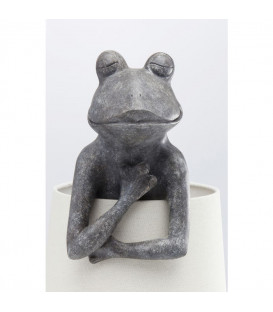 Lámpara mesa Animal Frog gris
