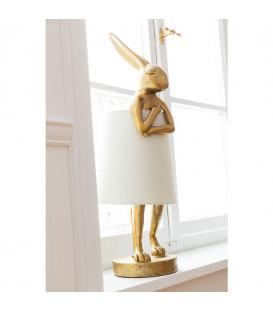 Lámpara mesa Animal Rabbit dorado