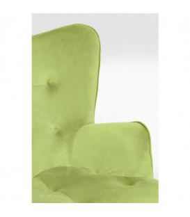 Butaca Vicky Velvet verde