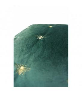 Cojín Bee verde 45x45cm