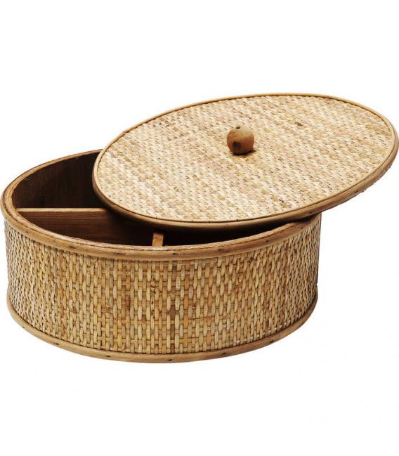 Caja Bambú Redonda Ø31cm