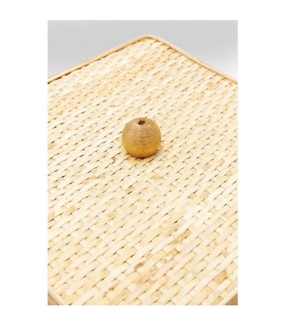 Caja Bambú Cuadrado