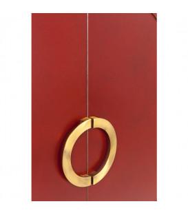 Armario Disk rojo