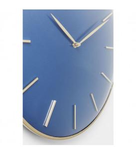 Reloj de pared Malibú azul Ø40cm