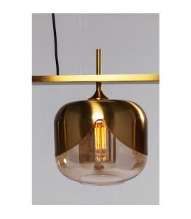 Lámpara Goblet oro 4 Ø25cm