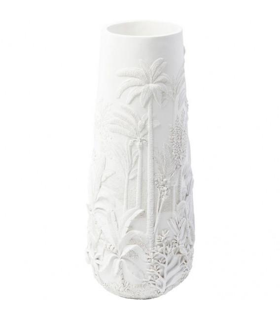 Vasija Jungle blanco 83cm
