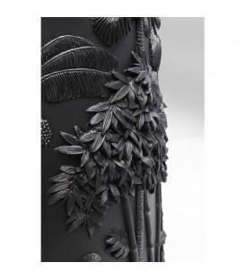 Vasija Jungle negro 83cm