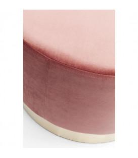 Taburete Cherry rosa Brass Ø55cm