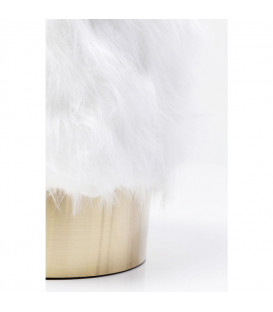 Taburete Cherry Fur Brass Ø35cm