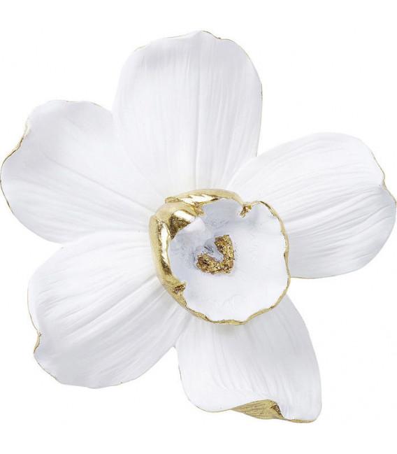 Decoración de pared Orquídea Blanca 25cm