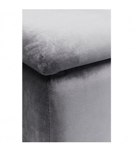 Banco Cherry Storage gris negro 120cm