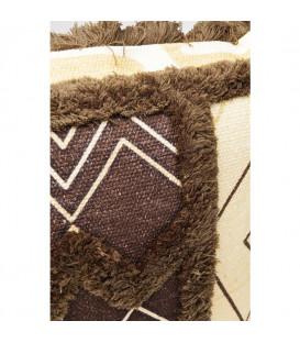 Cojín Wild Life marrón 45x45cm