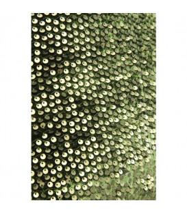 Cojín Paillette verde 45x45cm