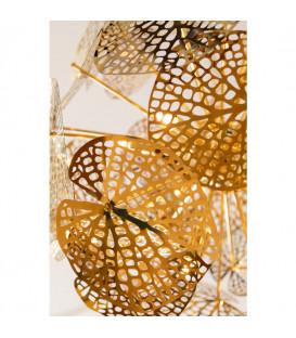 Lámpara Leaf oro Ball