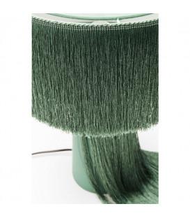 Lámpara de mesa Fringes verde