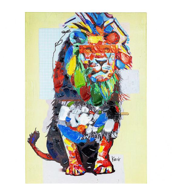 Cuadro Wildlife Lion 70x100cm