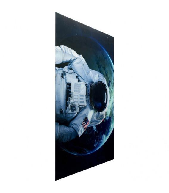 Cuadro cristal Astronauta 120x180cm