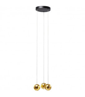 Lámpara Spool Spiral LED Oro