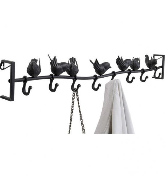 Perchero pared Shadow Birds 95cm