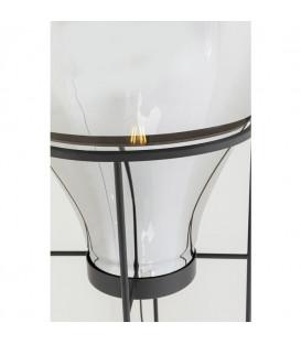 Lámpara de pie Pear Frame negro 158cm