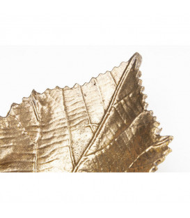 Fuente decorativa Leaf oro peq