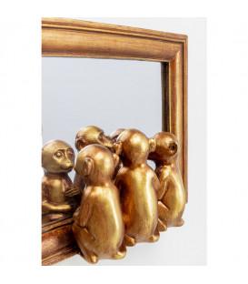 Objeto decorativo Espejo Monos