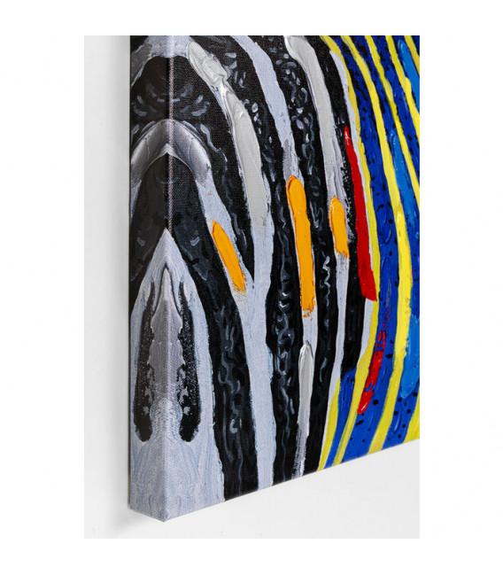 Cuadro Wildlife Cebra 80x80cm