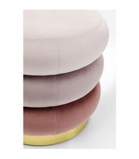 Taburete Sandwich rosa