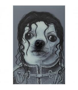 Cuadro espejo King Dog 60x60cm