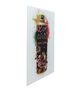 Cuadro cristal Explosion Colour Spray 60x80cm