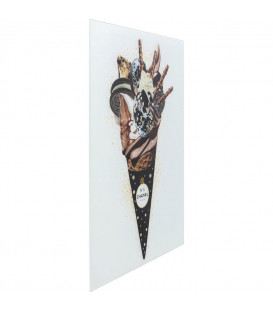 Cuadro cristal Rich Ice Cream 60x80cm