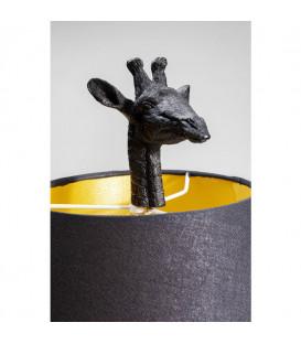 Lámpara mesa Jirafa negro