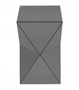 Mesa Auxiliar Luxury Triangle Gris