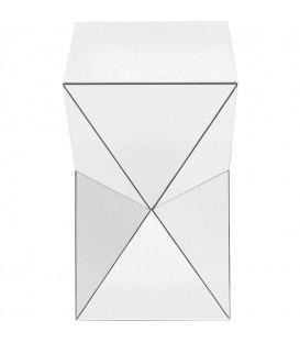 Mesa Auxiliar Luxury Triangle Blanco