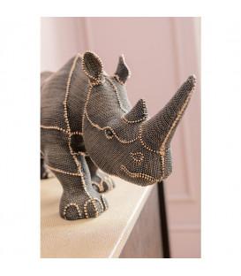 Objeto deco Rhino Rivets Pearls 25cm