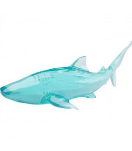 Objeto decorativo Visible Whale azul