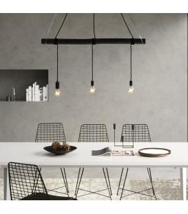 Lámpara techo minimalista Dining Negro