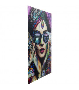 Cuadro cristal Colorful Artist 120x80cm