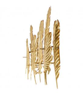 Perchero pared original Leaf Oro 86cm