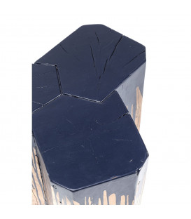 Taburete Runny azul