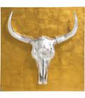 Decoración pared  Bison 80x80cm